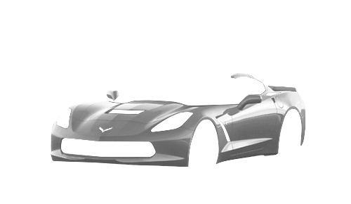 Цвета кузова Corvette Stingray Coupe