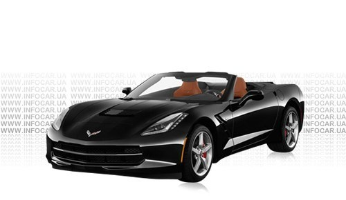 Цвета Corvette Stingray Convertible