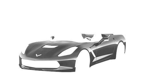 Цвета кузова Corvette Stingray Convertible